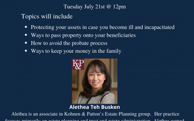 Webinar: Estate Planning & Asset Protection