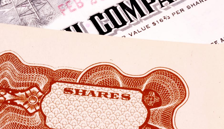 Stock Certificate Post