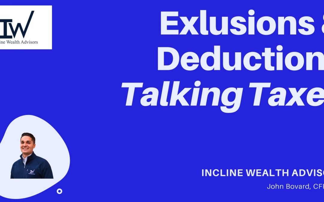 Exclusions & Deductions from Gross Income